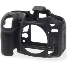 easyCover Protective Skin - Camera Cover for Nikon D7200 Camera (Black)