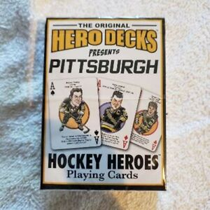 PITTSBURGH-PENGUINS-NHL-Hockey-Greats-Herodecks-set-Playing-Cards-NEW-UNOPENED