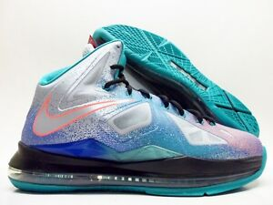 info for a5fee b5fd5 Image is loading NIKE-LEBRON-X-034-RE-ENTRY-034-PURE-