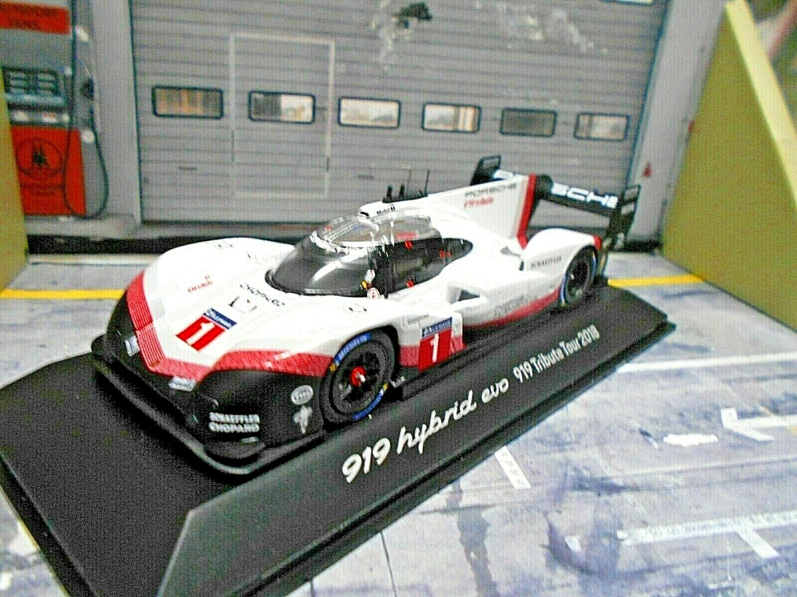 Porsche 919 Tribute record bucle del norte 2018 nurburgring 2018 racing Spark 1 43