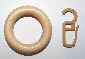 Gardinenringe-Holz-hell-natur-fuer-16-mm-20-mm-und-22-mm-Gardinenstangen