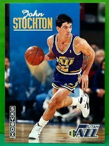 John Stockton regular card 1992-93 Skybox #244