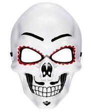 MALE DAY OF THE DEAD MASK Voodoo Sugar Skull Skeleton Fancy Dress Mask 95707