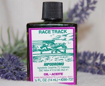 Race Track Magickal Oil (1) 4DRMs Fast Luck, Gambling, Money