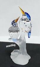 Swarovski Malchite Kingfishers, Tropical Birds Crystal Authentic MIB 623323