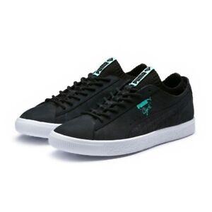 Puma-Clyde-Diamond-Sock-Lo-Sneakers-Street-Mens-US-10-5-BNIB-UK-9-5-EUR-44-Black