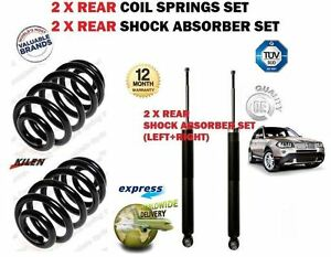 FOR BMW E83 X3 + XDRIVE 4x4 2004->2x REAR SHOCK ABSORBER SET + 2x COIL SPRINGS