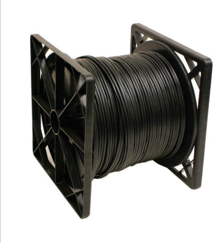 Spool,Black Color.ETL Listed 500 ft RG59 Power Siamese Cable