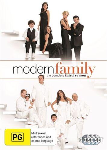 1 of 1 - Modern Family: Season 3 (DVD, 2012, 3-Disc Set) Brand new and Sealed