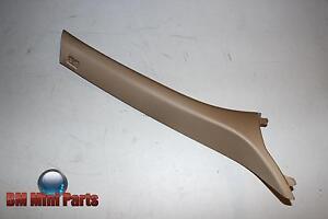 BMW-E34-Saloon-Front-Right-A-Column-Trim-Pergament-NLA-51438126432
