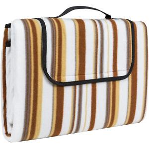 Coperta da Pic-Nic impermeabile portatile telo tappetino campeggio 2x1,5 m beige