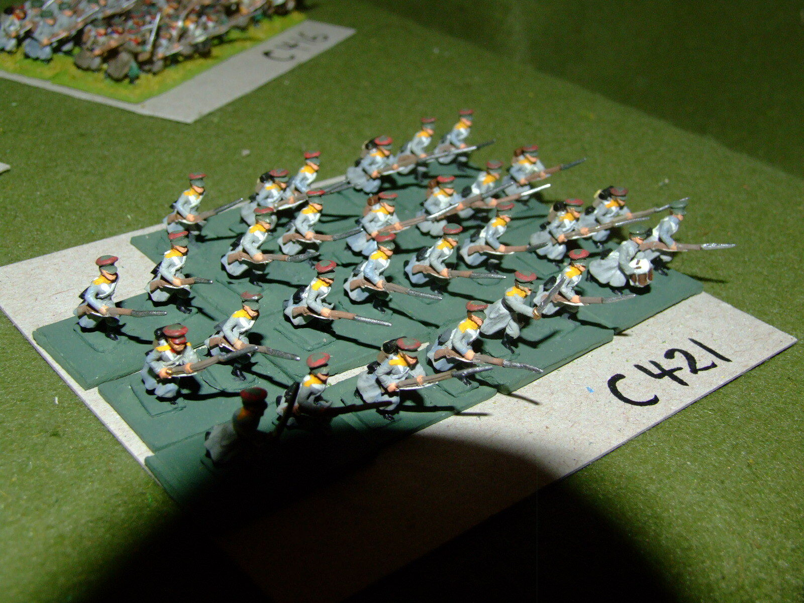 15mm 19th century   crimean - Russian 30 Infantry - inf (CL421)
