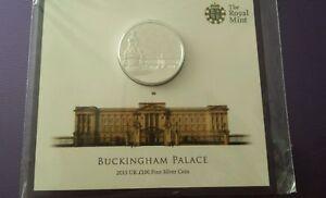 * 2015 Monnaie Royale £ 100 Buckingham Palace Monnaie Argent-bunc-rare Limited.-afficher Le Titre D'origine Opq0inel-07232251-148766554