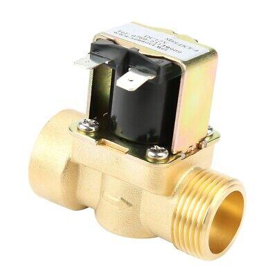 Elektrisch Magnetventil PT1//4/'/' Gewinde Kunststoff Ventil für Wasser//Luft//Öl ۞