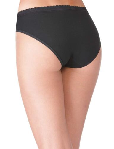 Sloggi Chic Tai Brief Knickers Pants 4 Pack 85/% Cotton 10071654 RRP £48.00