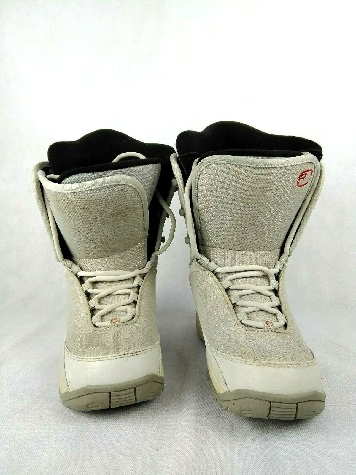 RIDEBOOTMFG RIDE BOOT  MFG BASE Womens Snowboarding Boots White G  size 9 US  high quality