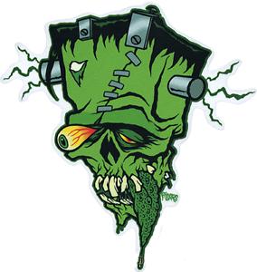 Franken-Tongue-STICKER-Decal-Frankenstein-Eric-Pigors-PG55