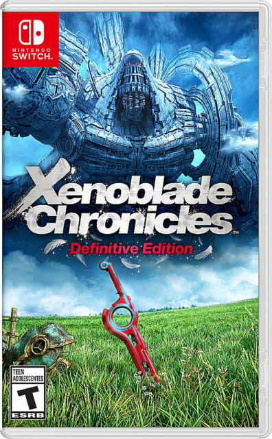 Xenoblade Chronicles Definitive Edition - Nintendo Switch - Brand New SHIPS FAST