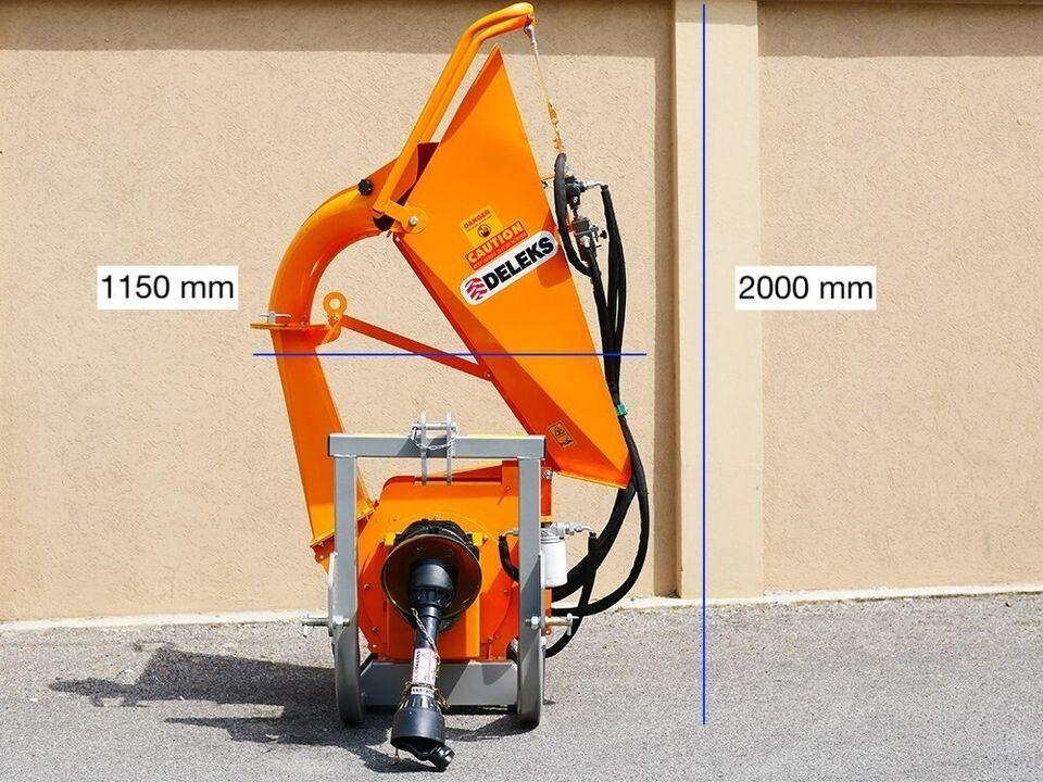 DK1300 - BIO-TROMLEFLISHUGGER TIL TRAKTOR