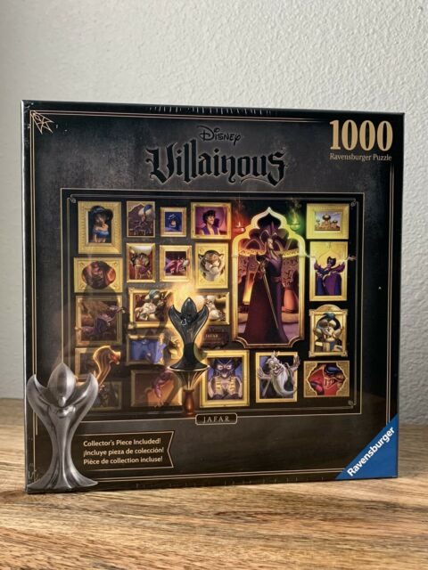 Ravensburger JAFAR Aladdin Disney Villainous 1000 Pcs Jigsaw Puzzle SEALED