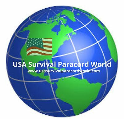 USA SURVIVAL PARACORD WORLD