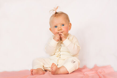 Newborn Baby Coverall 100/% Ultrafine Merino One Piece Zippy