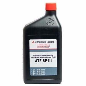 Use mitsubishi genuine atf sp3