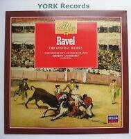 411 016-1 - RAVEL - Orchestral Music ANSERMET Suisse Romande - Ex LP Record