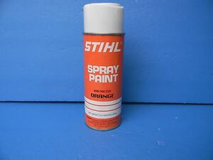 Image Is Loading Stihl Chainsaw Spray Paint Oem Orange Color 0000