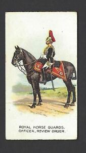 WILLS-AUS-TYPES-OF-BRITISH-ARMY-CAPSTAN-7-ROYAL-HORSE-GUARDS-OFFICER