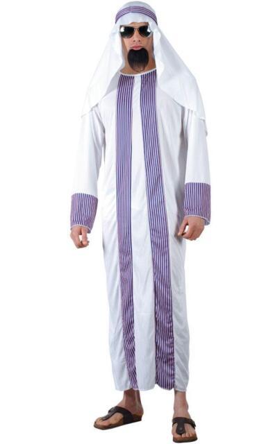 Arab Sheik Fancy Dress Stag Adult Costume