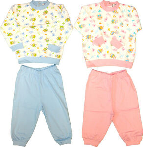 baby schlafanzug 2 tlg baby pyjama baby schlafanzug gr e 68 74 80 86 neu ebay. Black Bedroom Furniture Sets. Home Design Ideas