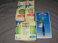Gerber Baby Bottles Nipple Green Feeding Bowls Soft Tip Spoon Infant