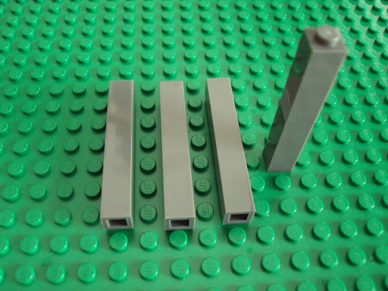 3004 NEU // NEW Lego 10 x Basic Steine grau Brick 1 x 2 Dark Bluish Gray