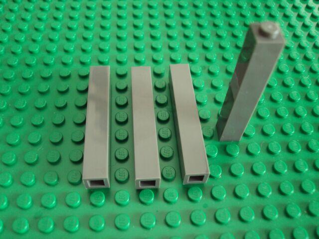4 Tan 1x2x5 Tan Coulmn Bricks ~ Lego ~ NEW ~ Star Wars