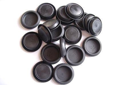 "Caplugs 1-1//4/"" Round Plastic Plug Button Depressed Center Hole Lot of 20 -----"