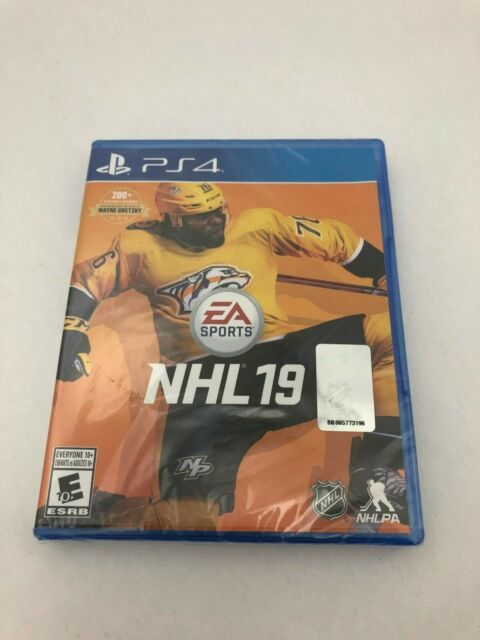 PS4 Video Game: NHL 19  (HI83)
