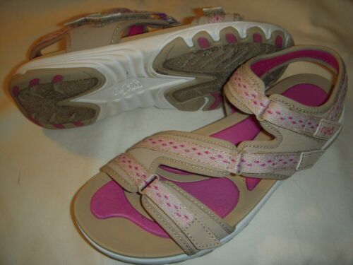 Ryka Ginger Adjustable Lightweight Sport Sandals w//Re-Zorb Lite Footbed Women/'s