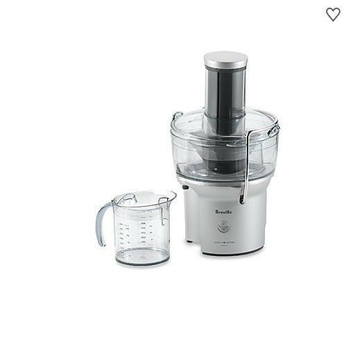Breville The Juice Fountain TM Compact -Usedslightlyin box with instructions