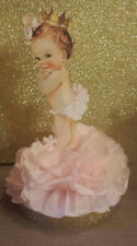 LITTLE PRINCESS PINK GOLD CENTERPIECE BIRTHDAY PARTY BABY SHOWER TABLE DECOR