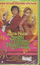 Austin Powers Spion in Geheimer Missionarsstellung VHS Vide NEU Mike Myers