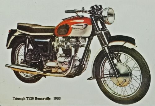 "Fridge Magnets Photo Motorcycles British European Triumph 2/"" x 3/"" Collectibles"