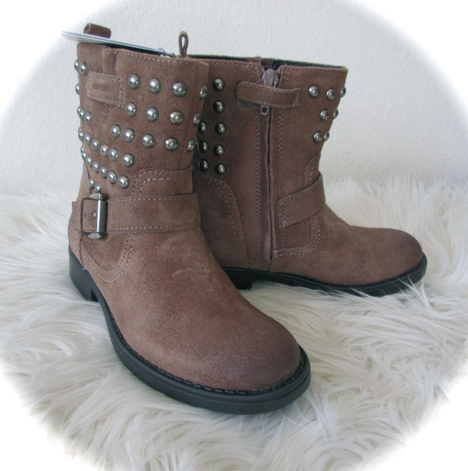 GEOX Respira° Stiefel Stiefelette Boots SOFIA mit Nieten