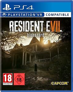 Ps4-jeu-RESIDENT-EVIL-7-Biohazard-VR-compatible-article-neuf