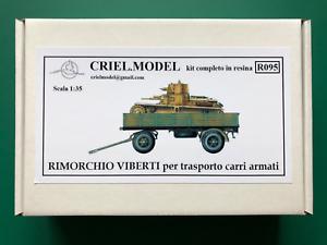 Crielmodel R095 1//35 Italian Trailer Viberti 3Ro IBG 35055 Resin Cri.el Criel