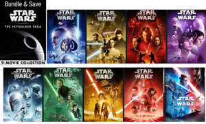 new star wars: skywalker saga 4k uhd digital only 9 movies