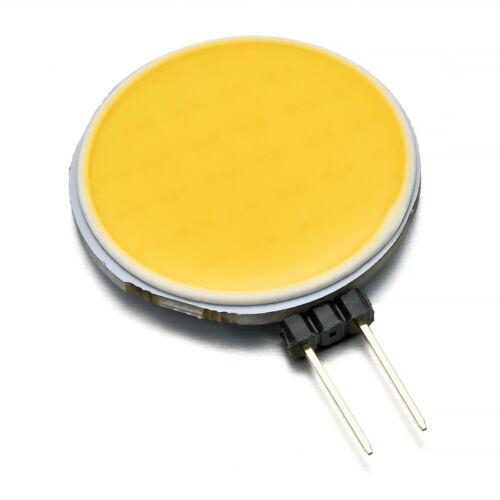 1XG4 DC12V Round Pin Round Shape Flat G4 LED COB Decorative Light Indoor light^^