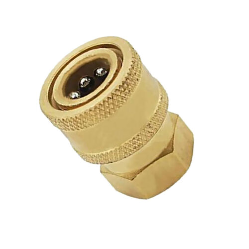 Pressure Washer Quick Release 12mm Coupling 1//4 Female Probe Connector