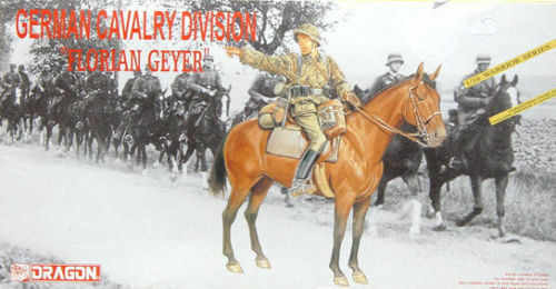 Dragon 1615 1 16 GERMAN CAVALRY DIVISION FLORIAN GEYER w HORSE