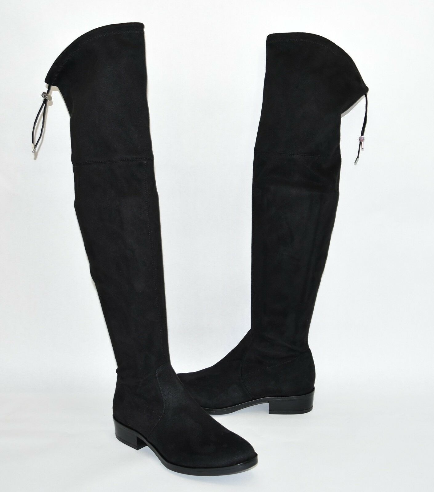 New New New  Sam Edelman Paloma Over the Knee Boot Black Suede Size 6 283f4c